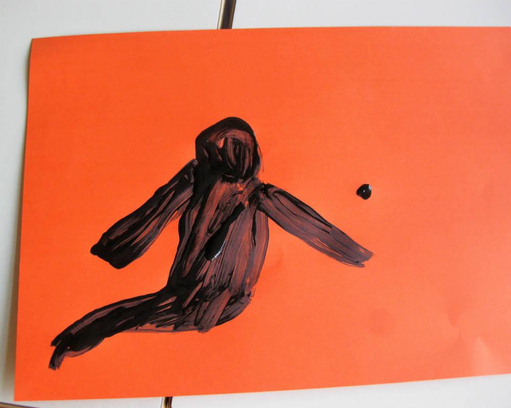 Disegno Di Un Bambino : Il disegno di un bambino con una vecchia macchina fotografica di